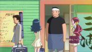 El padre de Akira sale del negocio