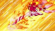Scarlet golpeando al Zetsuborg