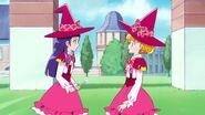 Riko le dice a Mirai que no esta nerviosa