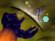 Fusion golpea escudo rey haaku