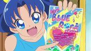 Aoi entra en el Blue Rock Fest.