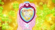 Cartas bonitas innocent en el espejo