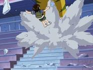 Ryouta es golpeado por gekidrago