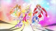 -1080p-Doki Doki Pretty Cure - Group Transformation