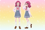 Hana Uniform Profile Toei