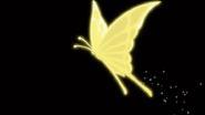 Mariposa amarilla urara