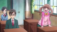 Hinata y Chiyu reconocen a Nodoka
