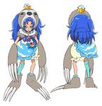 KKPCALM movie-BD art gallery-07a-Cure Gelato animal form