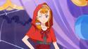 Kyoko dressed as red riddinghood