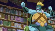 79. Gamettsu mandando al Yokubaru a atacar