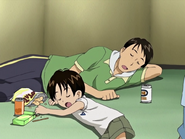 Takeshi ryouta durmiendo