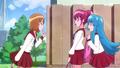 Yuko respondiendoles que es un misterioso secreto