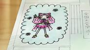 HuPC02.23-Dibujo de Cure Yell echo por Hana