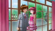 Megumi se anima un poco