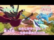 ヒーリングっど♥プリキュア 第34話予告 「わたしがライバル!? ちゆの求めたツバサ」
