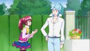 Megumi le cuenta a Blue de su padre
