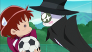 Potpourri le propone a Sayaka se la nueva Pretty Cure