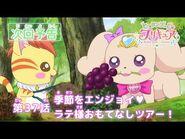ヒーリングっど♥プリキュア 第37話予告 「季節をエンジョイ♥ラテ様おもてなしツアー!」