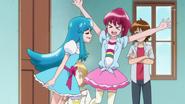 Yuko logra sacar aime de la habitacion