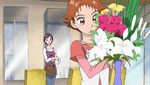 YPC515 Rin arranging flowers