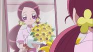 Al siguiente dia, Tsubomi se prepara para ir al hospital
