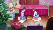 Chiyu y Nodoka ven que Latte no se siente bien