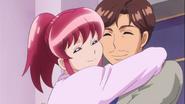 Megumi y su padre