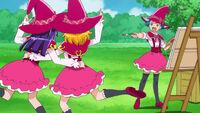 Mirai and Riko posing for Jun
