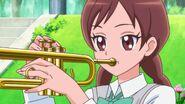 HGPC29 Kotoe plays the trumpet