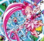 Heartcatch Pretty Cure! Calendar Blossom and Marine