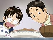 Ryouta takeshi sorprendidos cocina nagisa