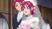 Mana's dad movie in her wedding