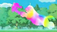 STPC33 Unicorn Fuwa warps with Yeti