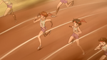 YPC513 Flashback Rin runs relay