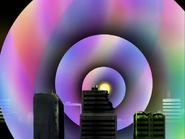 Porun emite ondas arcoiris