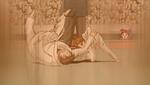 YPC513 Flashback Rin plays judo