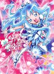 Heartcatch Pretty Cure! Visual of Blossom and Marine