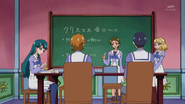 In the student council room
