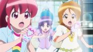 Las chicas dispuesta a proteger a Hime