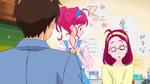 STPC18 Hikaru looks at her surprised mother