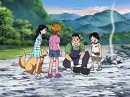 Takeshi muestra arroz