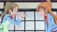 Hibiki y Kanade discutiendo