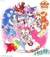 KiraKira☆Pretty Cure a La Mode Visual