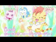 ヒーリングっど♥プリキュア 第45話予告 「おいでませ♥ヒーリングガーデン!」