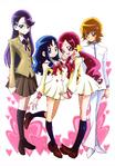 Futago Kamikita All Precure Illustration Heartcatch 1
