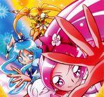 Heartcatch Pretty Cure! Calendar Blossom, Marine and Sunshine