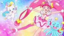 STPC Movie Cure Star, Fuwa and Prunce