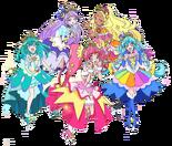 Star Twinkle Pretty Cure cutie figure box art