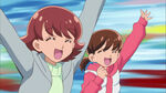 KKPCALM41 Risa and Junko are excited to see Rio
