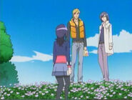 Setsuna, Hayato y Shun se van